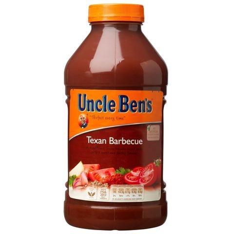 Uncle Bens Texan BBQ Sauce 2.51kg