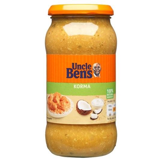 Uncle Bens Korma Sauce 2.3kg