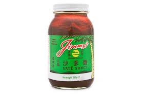 Jimmys Sate Sauce 360g