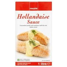 Macphie Hollandaise Sauce 1ltr (Gluten Free)