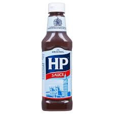 H.P. Brown Sauce Squeezy 8 x 285g