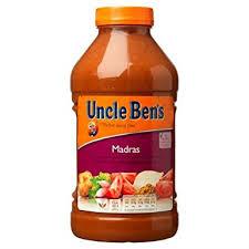 Uncle Bens Madras Sauce 2.3kg