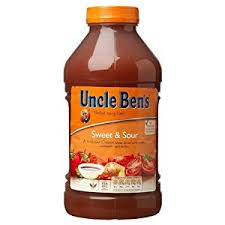 Uncle Bens Sweet & Sour Sauce With Vegetables 2.3kg
