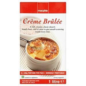 Macphie Creme Brulee 1ltr