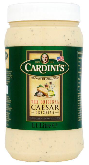 Cardinis Caesar Dressing 1.1ltr
