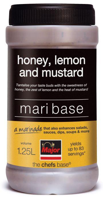 Major Honey, Lemon & Mustard Mari Base 1.25ltr