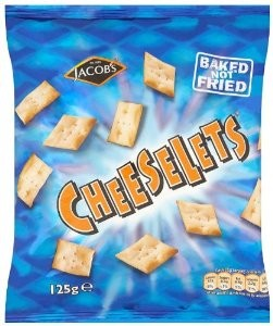 Cheeselets Card 18 x 30g