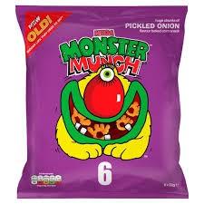Monster Munch Pickled Onion 30 x 40g