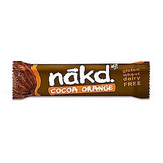 Nakd Cocoa Orange Bars 18 x 35g