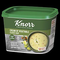 Knorr Classic Cream of Veg Soup 25 Portion