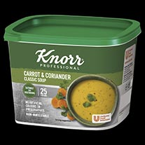 Knorr Classic Carrot & Corriander Soup 25 Portion