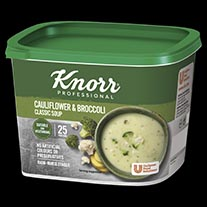 Knorr Classic Cauliflower Broccoli Soup 25 Portion