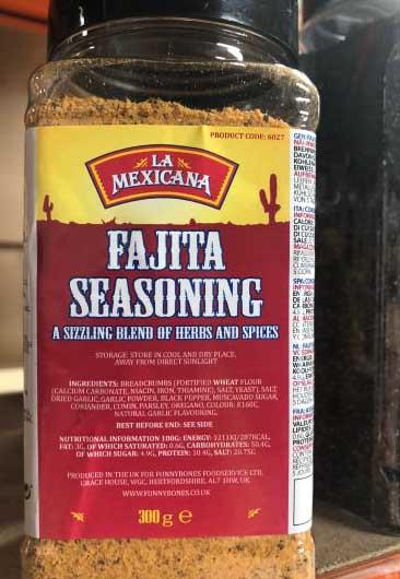 La Mexicana Fajita Seasoning 300g