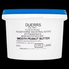 Duerrs Peanut Butter Smooth 2.5kg
