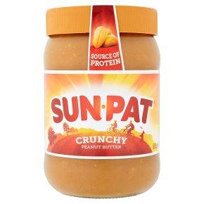 Sunpat Peanut Crunchy Peanut Butter 600g