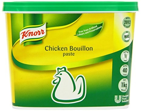 2 x Knorr Chicken Bouillon 1kg For £25