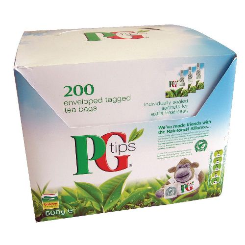 PG Tips Teabags-Tagged Envelopes 200s