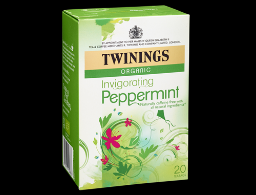 Twinings Peppermint Teabags-Envelopes 20s