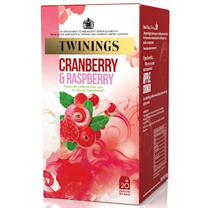 Twinings Cranberry, Raspberry & Elderflower Envelopes 20s