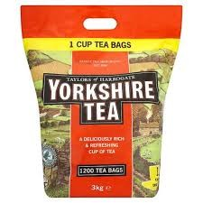 Yorkshire Teabags 1200s