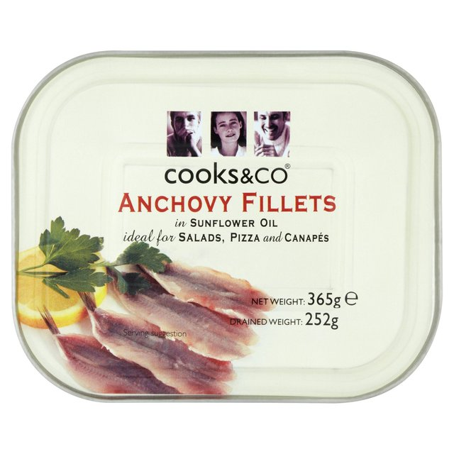 Anchovy Fillets 368g