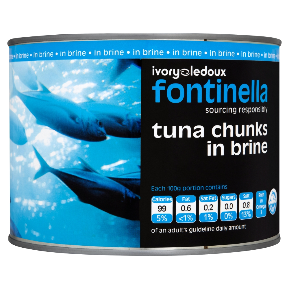 Tuna Chunks in Brine 800g