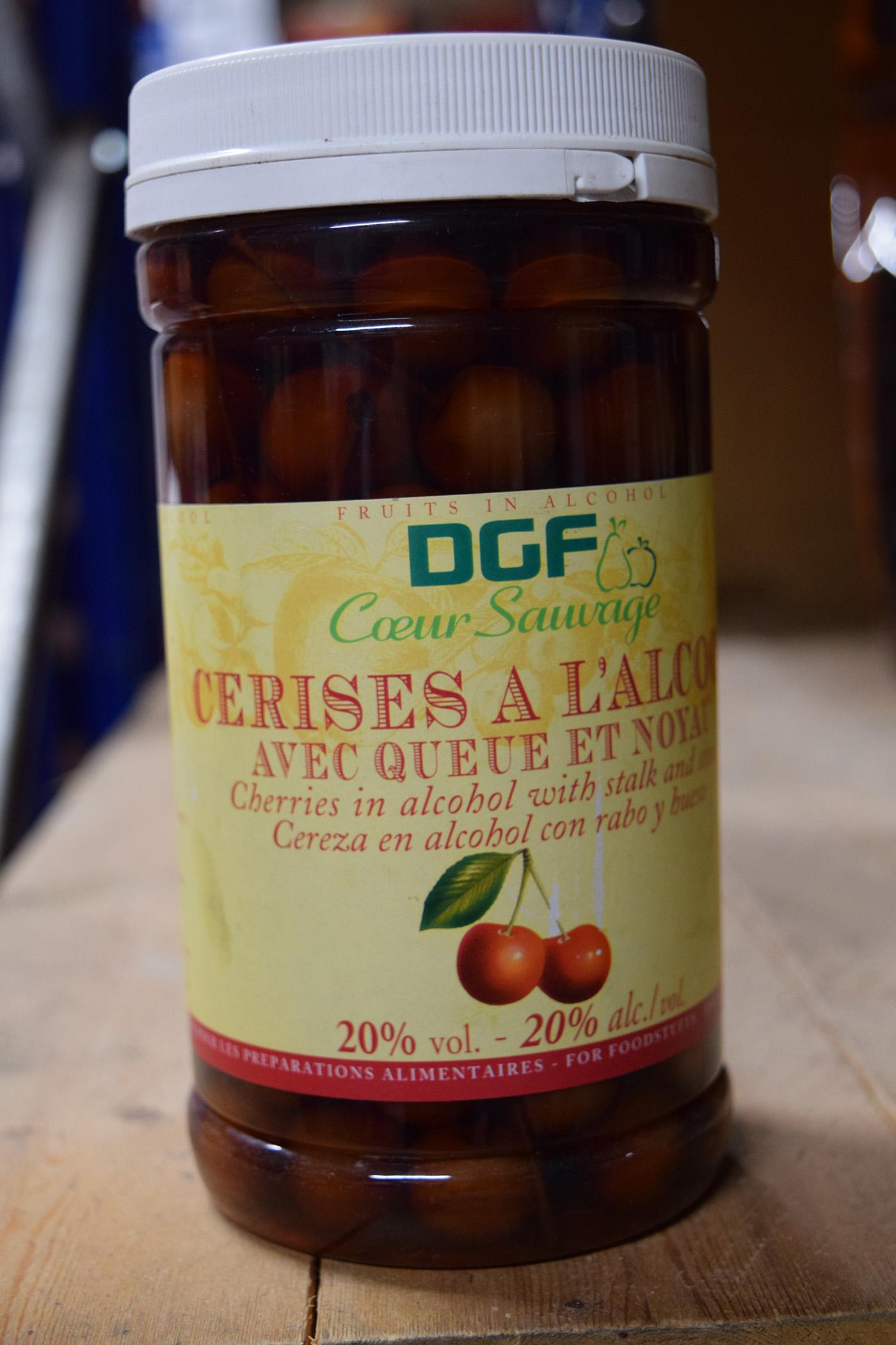 Griottines Cherries in Plastic Jar 1kg