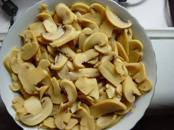Sliced Mushrooms Tinned 3kg
