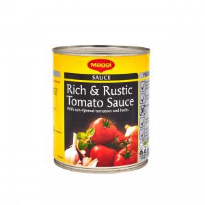 Maggi Rich & Rustic Tomato Sauce 800g Gluten Free