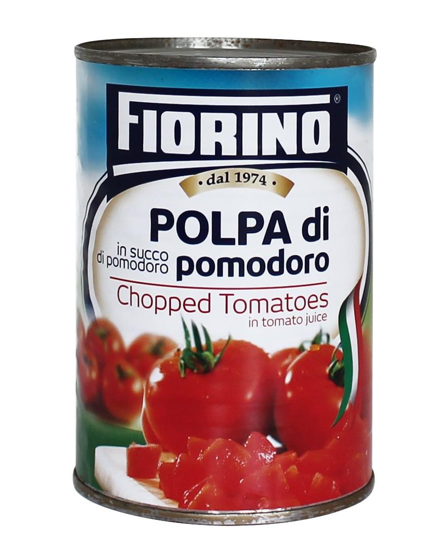 24 Tins Fiorino Chopped Tomatoes 400g