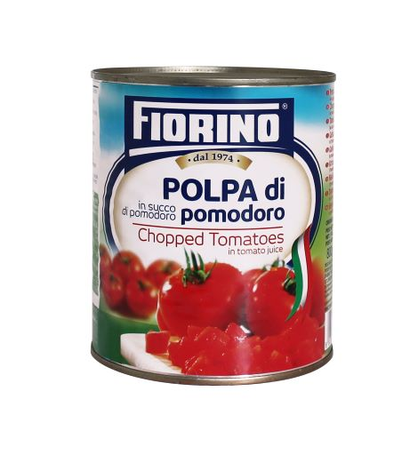 12 Tins Fiorino Chopped Tomatoes 800g
