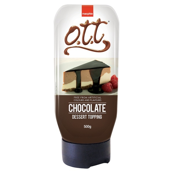 OTT Chocolate Topping Syrup 500g
