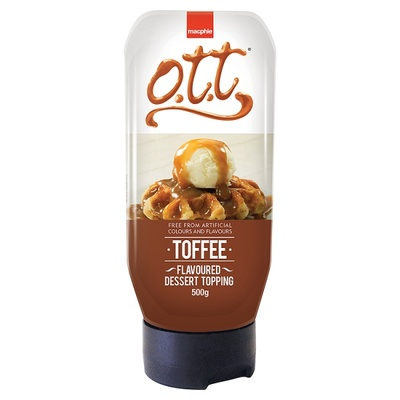 OTT Toffee Topping Syrup 500g