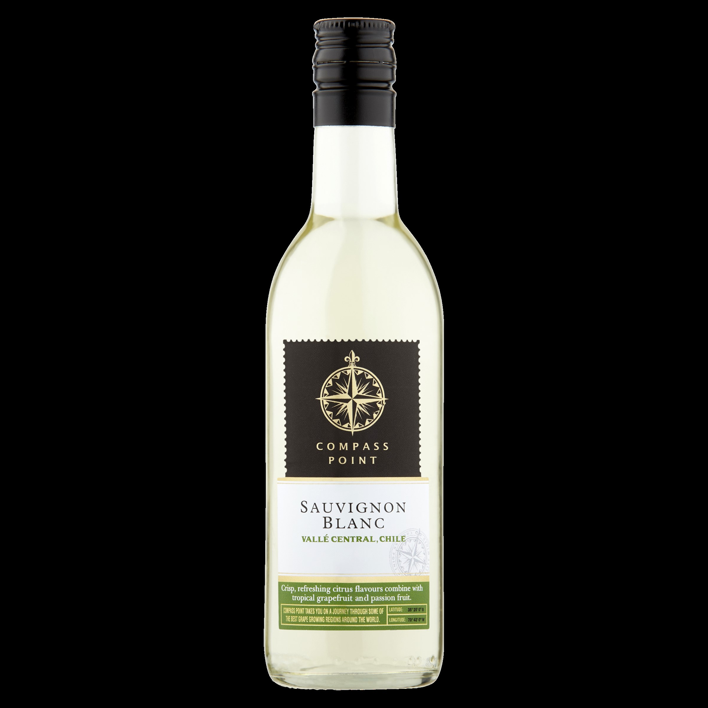 Six Mile Road Chilean Sauvignon Blanc PET 48 x 187ml