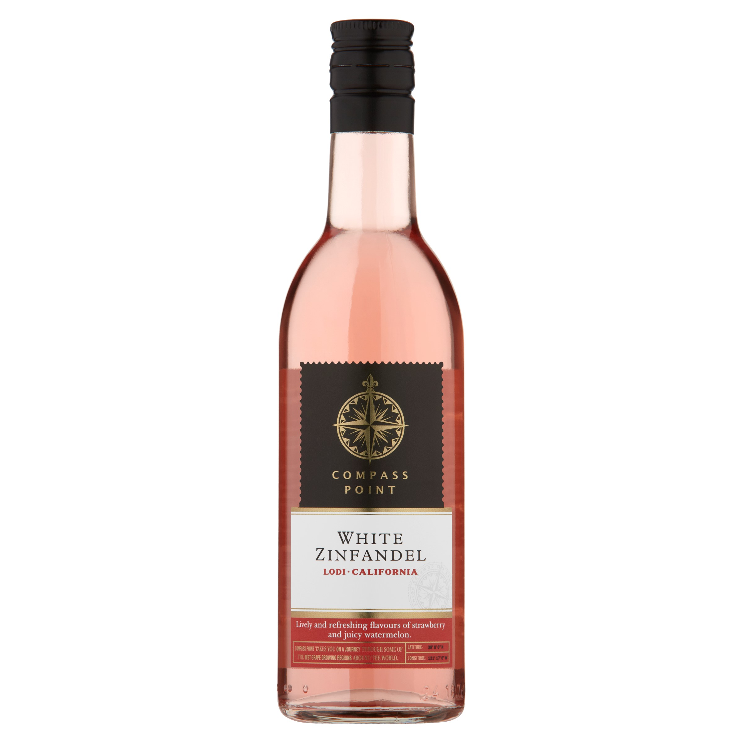 Six Mile Road Californian Zinfandel Rose PET 48 x 187ml