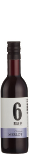 Six Mile Road Chilean Merlot PET 48 x 187ml