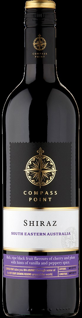 Compass Point Shiraz 12 x 187ml