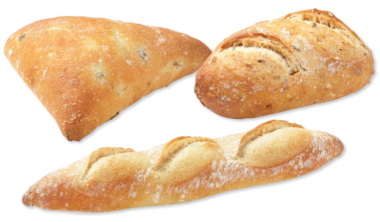 Bridor Lenotre Mixed Part Baked Bread Rolls x 90