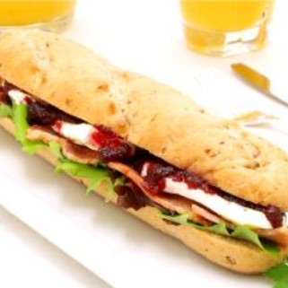 Malted Wheat Baguette Thaw - Serve 40 x 130g ( LBF)