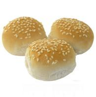 Mini Sesame Seed Topped Burger Buns 2