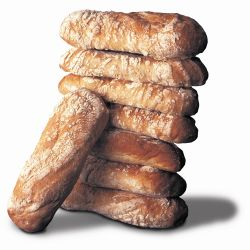 Speciality Breads Ciabatta Loaf Thaw & Serve 40 x 100g