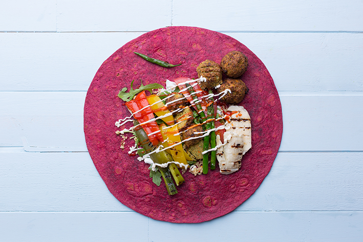 Beetroot Wraps 12