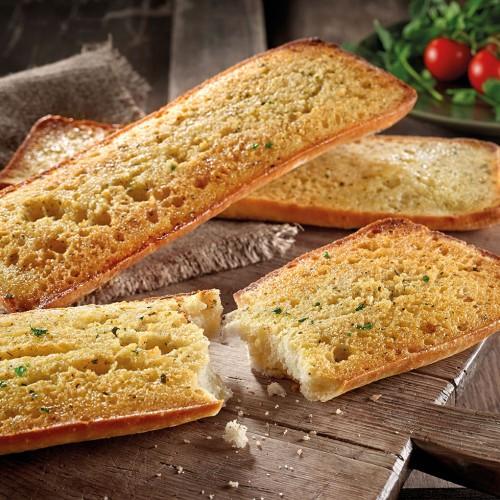 Garlic Ciabatta Bread 80 x 120g