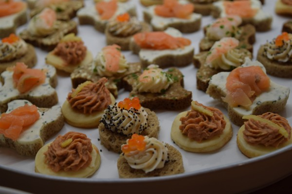 Seafood Canape Selection x 40 (4x10) flavours