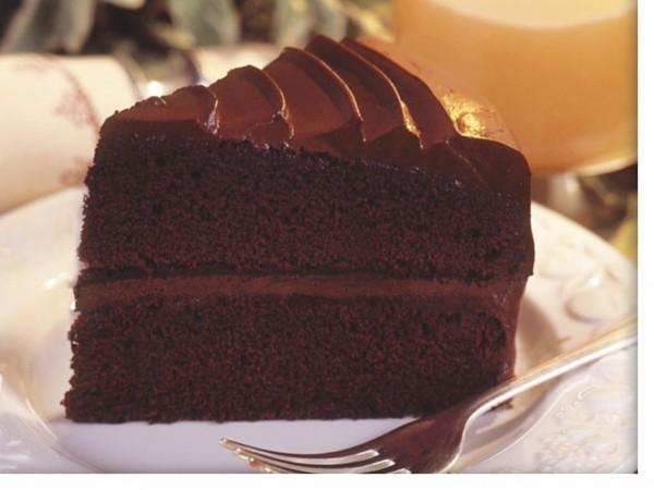 City Cakes Chocolate Fudge Cake 14  Presliced Portions