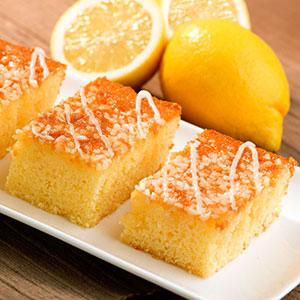 Handmade Cake Co. Lemon Drizzle Traybake 12ptn
