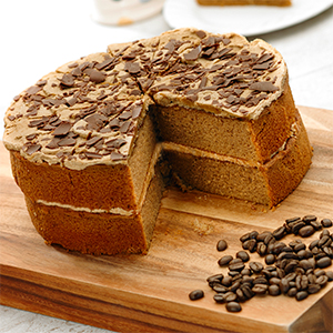 Handmade Cake Company Gluten Free Cappuccino Cake P/P 14