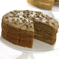 Handmade Cake Company Coffee & Walnut P/P 14