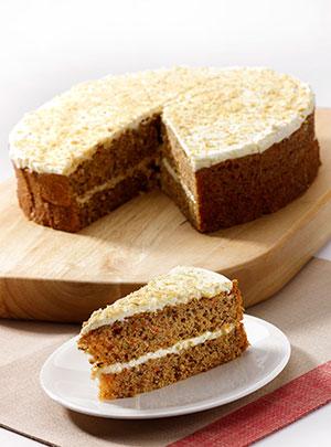 Handmade Cake Company Carrot Cake P/P 14