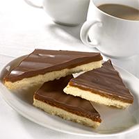 Handmade Chocolate Caramel Shortbread Traybake 12ptn